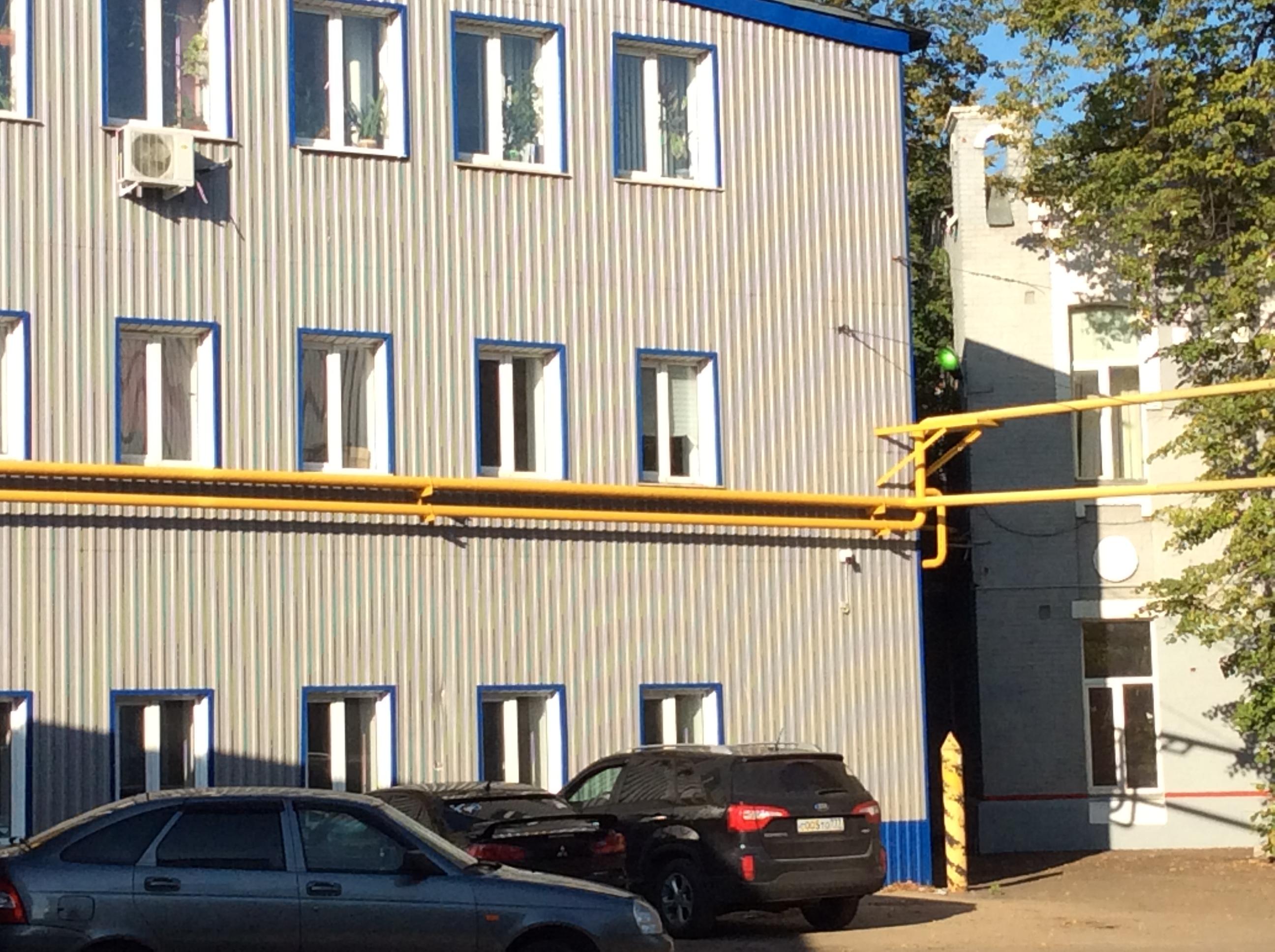 новый вид здания конторы депо