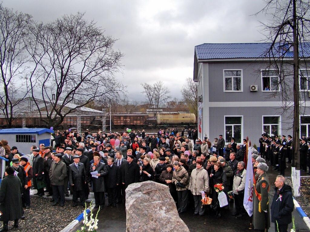 митинг в честь 100 летия депо